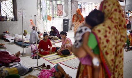 Bangladesh: Số ca mắc sốt xuất huyết tăng gấp 5,7 lần ảnh 1