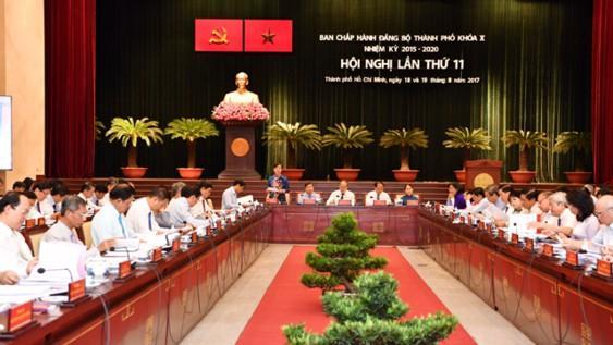 Hôm nay, Thành ủy TPHCM tổ chức hội nghị lần thứ 32 ảnh 1