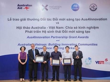 Trao giải thưởng Đối tác Đổi mới sáng tạo Aus4Innovation ảnh 1