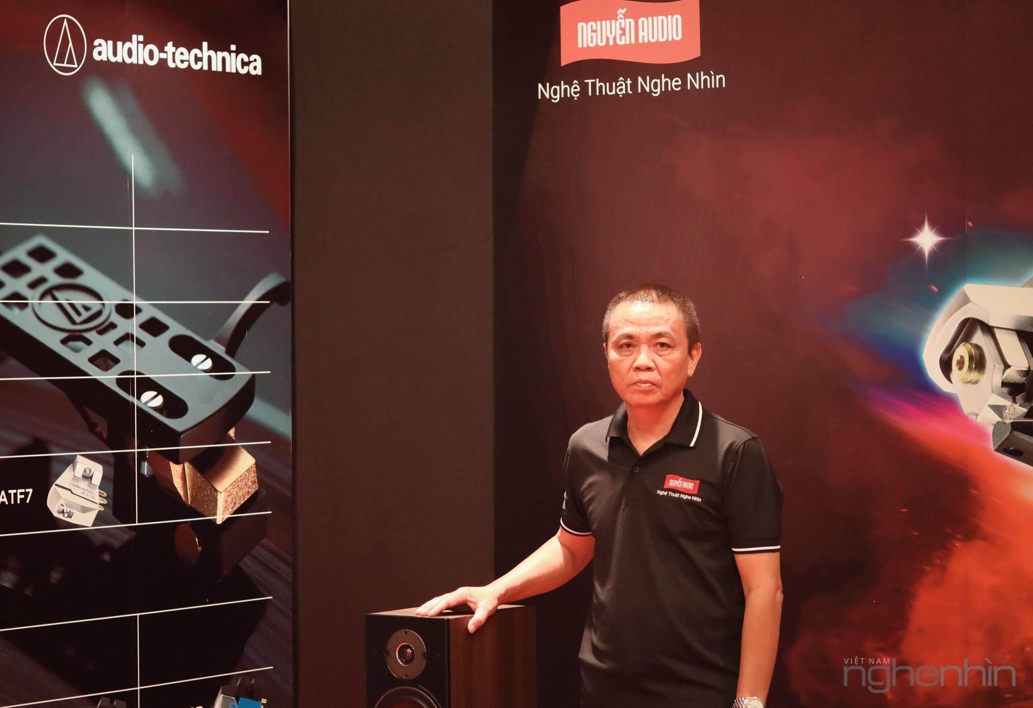 Chia sẻ về Audio-Technica tại phòng nghe Nguyễn Audio ảnh 1