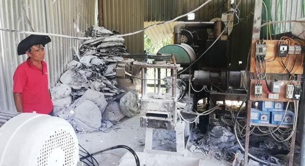 Đắk Nông: Xử phạt cơ sở tái chế nhựa gây ô nhiễm môi trường ảnh 1