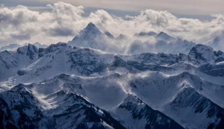 1.000 du khách bị kẹt ở núi Alps, Pháp ảnh 1
