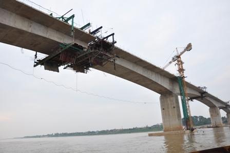 Tháng 3/2020, thông xe cầu Thịnh Long vượt sông Ninh Cơ, Nam Định ảnh 1