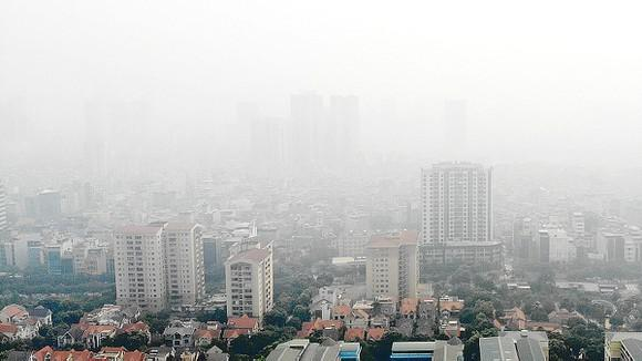Chất lượng không khí Hà Nội ở ngưỡng rất xấu ảnh 1