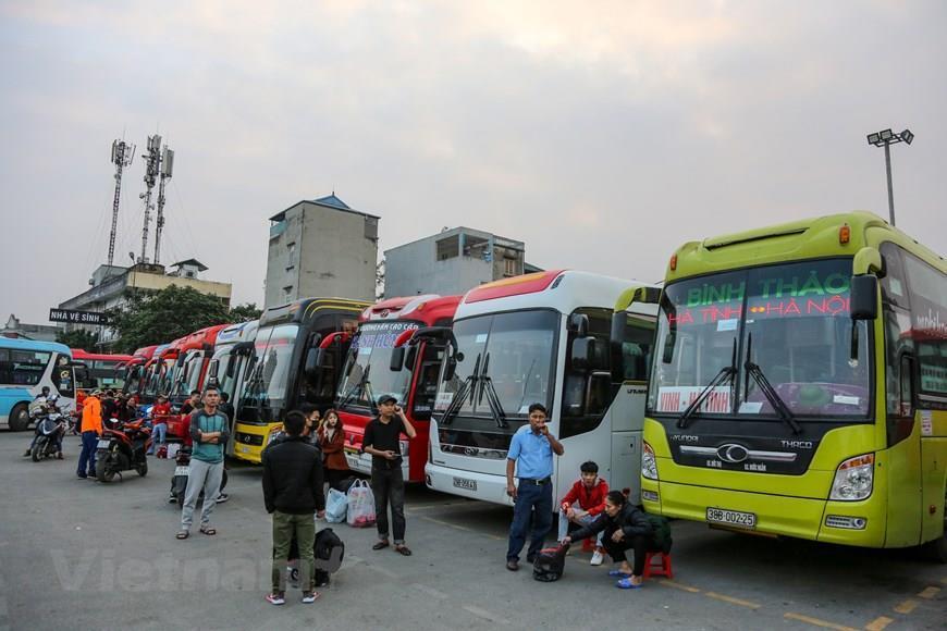 Bến xe Hà Nội miễn phí dịch vụ cho nhà xe do ảnh hưởng của COVID-19 ảnh 1