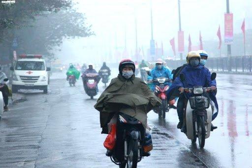Không khí lạnh tiếp tục tăng cường, Hà Nội có mưa dông và rét đến hết tuần ảnh 1