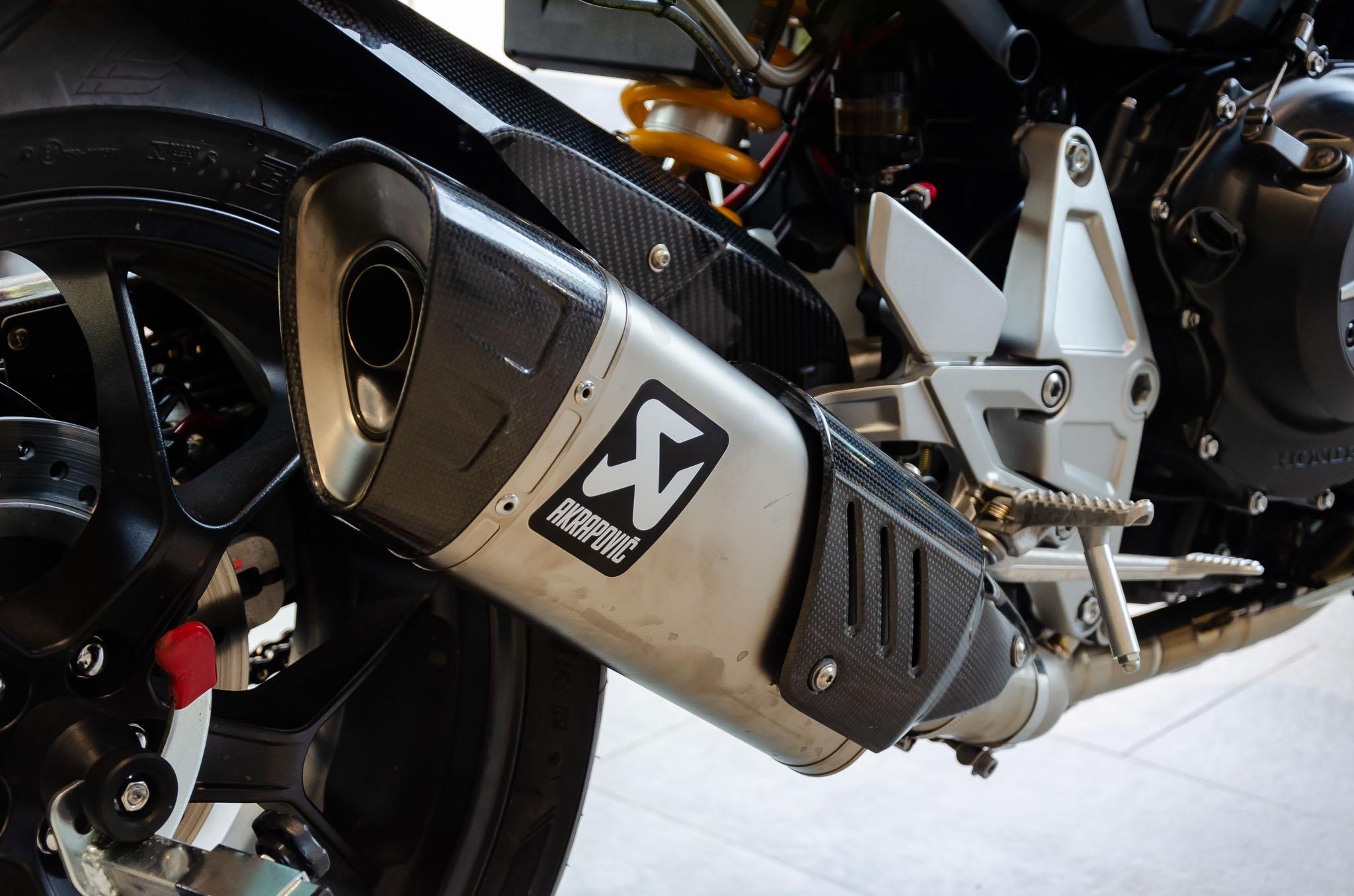 Môtô, xe máy độ pô có thể bị xử phạt tiền triệu ảnh 1