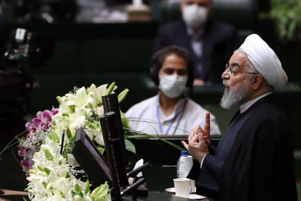Tổng thống Iran: Chúng tôi trải qua năm khó khăn nhất do trừng phạt và Covid-19 ảnh 1