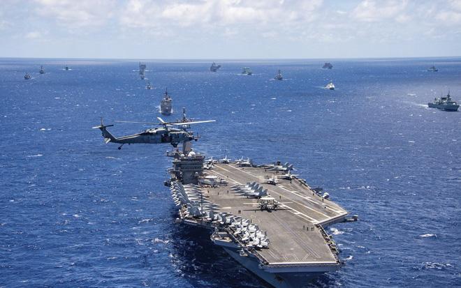 Hàn Quốc tham gia cuộc tập trận trên biển ở Thái Bình Dương do Mỹ dẫn đầu ảnh 1