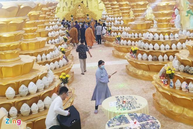 478 hũ tro cốt ở chùa Kỳ Quang 2 được nhận dạng ảnh 1
