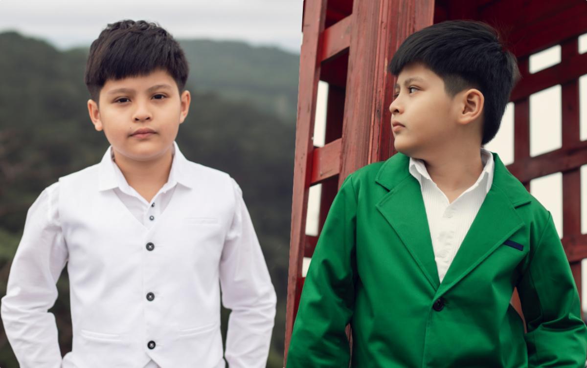Con trai Đức Thịnh - Thanh Thúy hóa 'soái ca nhí' với phong cách lịch lãm, đậm chất Hàn Quốc ảnh 1