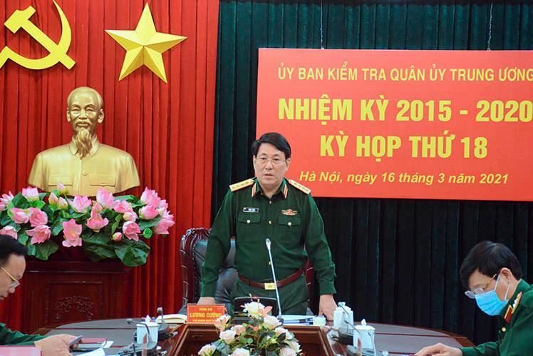 UB Kiểm tra Quân ủy Trung ương đề nghị kỷ luật Đảng 10 quân nhân ảnh 1