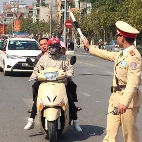 Chỉ có 4 trường hợp Cảnh sát giao thông được dừng xe để kiểm soát