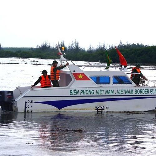 BĐBP Nghệ An khẩn trương tìm kiếm thuyền viên mất tích trên biển