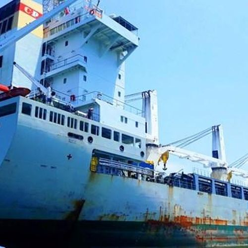 Phạt tàu hàng nước ngoài neo đậu trái phép trong vùng nội thủy Việt Nam