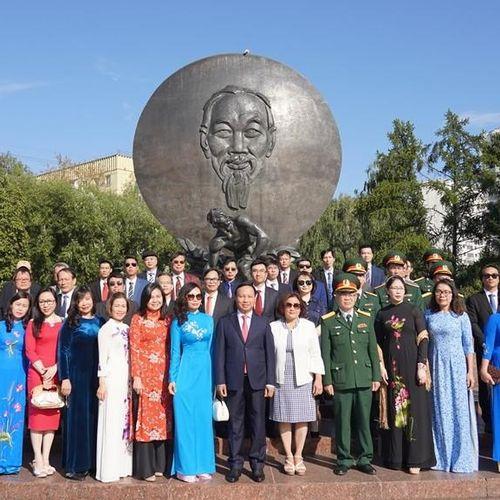 Đại sứ quán Việt Nam tại LB Nga kỷ niệm 75 năm Quốc khánh 2-9
