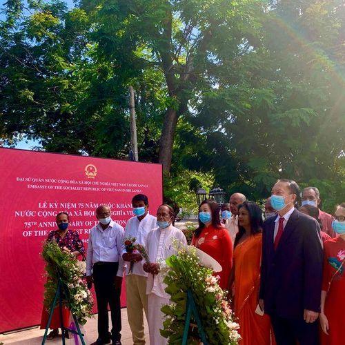 Kỷ niệm 75 năm Quốc khánh 2/9 tại Sri Lanka