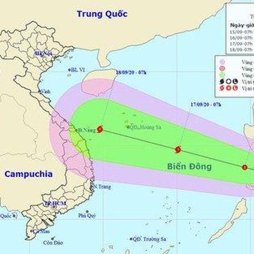 Dự báo thời tiết ngày 16/9/2020: Áp thấp nhiệt đới đổ bộ vào Biển Đông và mạnh lên thành bão