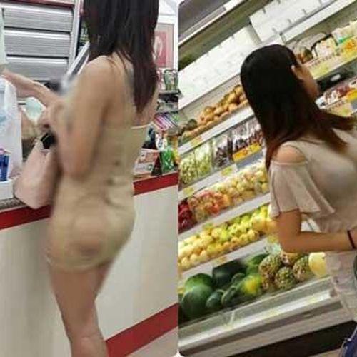 'Câm nín' trước những bộ cánh của hội chị em khi đi siêu thị
