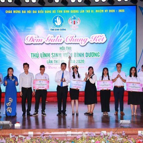 Chung kết Hội thi Thủ lĩnh sinh viên tỉnh Bình Dương