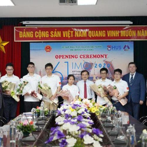 Sáu học sinh Việt Nam dự thi Olympic toán quốc tế