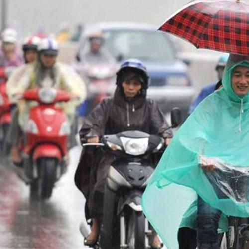 Không khí lạnh gây mưa cho Bắc Bộ