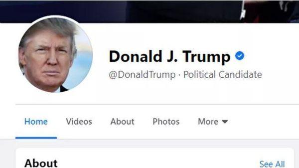 Facebook, Instagram bất ngờ mở khóa tài khoản Tổng thống Donald Trump