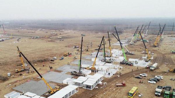 Ca COVID tăng vọt, Trung Quốc hoàn thành bệnh viện khổng lồ trong 5 ngày