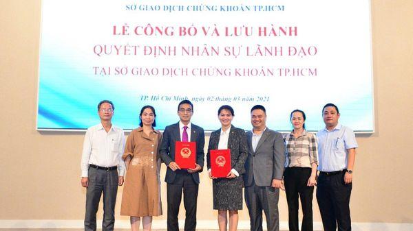 Sở Giao dịch Chứng khoán TPHCM có Tổng Giám đốc mới