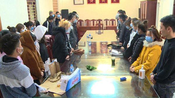 Liên tiếp bắt giữ 37 đối tượng 'mở tiệc' ma túy tại quán karaoke và khách sạn