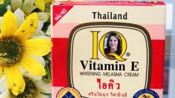 Công ty Vương Kim Long bị phạt 75,5 triệu đồng do sản xuất kem thoa mặt IQ chứa thủy ngân