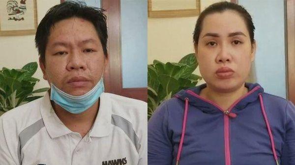 Hai vợ chồng thuê người ném chất bẩn vào tiệm thuốc tây bị khởi tố