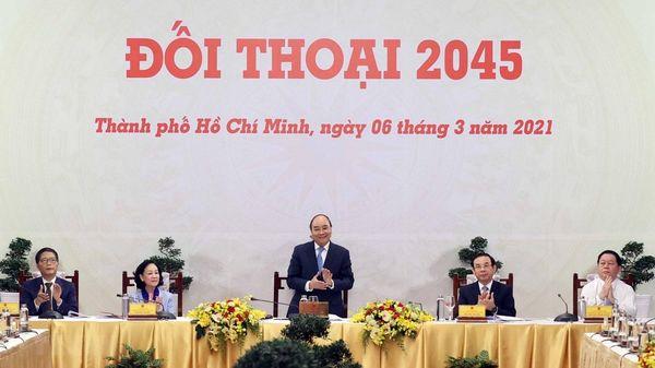 Thủ tướng Nguyễn Xuân Phúc chủ trì cuộc 'Đối thoại 2045'