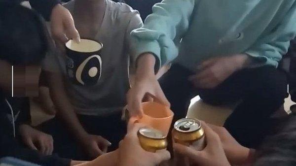 Phòng GD&ĐT huyện lên tiếng vụ cô giáo cổ vũ học sinh lớp 9 uống bia