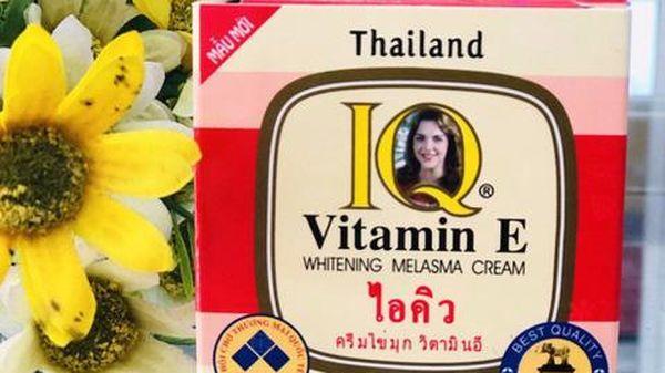 Xử phạt Công ty Vương Kim Long sản xuất kem thoa mặt IQ có chứa thủy ngân vượt giới hạn