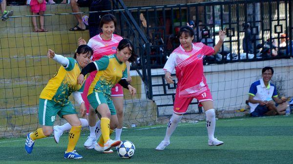 8 đội dự Giải bóng đá nữ DIC Corp
