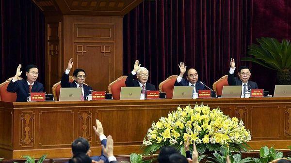 Hình ảnh khai mạc Hội nghị Trung ương 2 khóa XIII