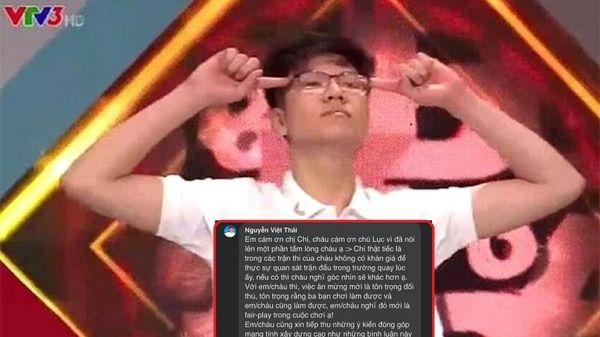 Bị phản ứng bởi hành động ăn mừng phấn khích ở Đường lên đỉnh Olympia, nam sinh Nguyễn Việt Thái nói gì?