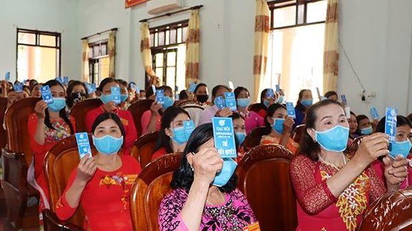 Hà Tĩnh hoàn thành đại hội đại biểu phụ nữ điểm cấp cơ sở