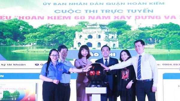 Thi trực tuyến tìm hiểu lịch sử quận Hoàn Kiếm