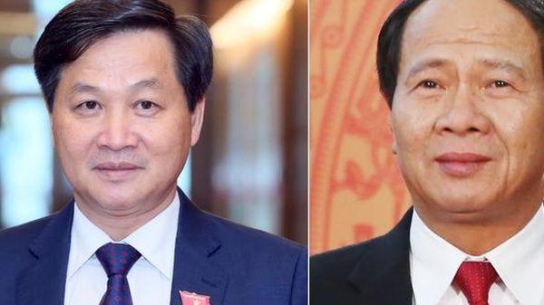 Các ông Lê Minh Khái, Lê Văn Thành được phê chuẩn bổ nhiệm giữ chức Phó Thủ tướng Chính phủ