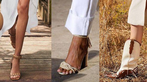 Denim và đan dệt - hai chất liệu 'hot' nhất Xuân Hè năm nay, phủ sóng đến cả xu hướng giày