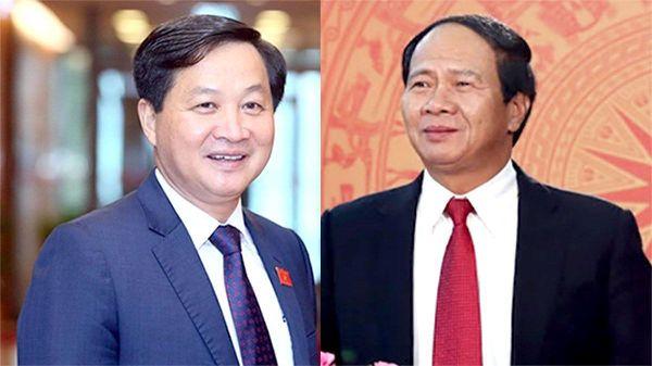 Ông Lê Minh Khái và Lê Văn Thành được bầu giữ chức Phó Thủ tướng