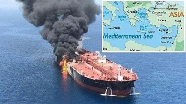 Tàu Iran bị Israel tấn công: Ẩn chứa bí mật gì ?