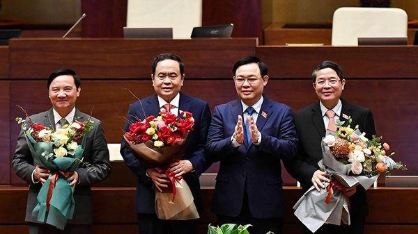 Các ủy viên Ủy ban Thường vụ Quốc hội khóa XIV (kiện toàn tại kỳ họp thứ 11)