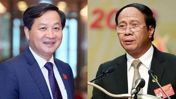 Phê chuẩn bổ nhiệm 2 Phó Thủ tướng và 12 Bộ trưởng, trưởng ngành mới