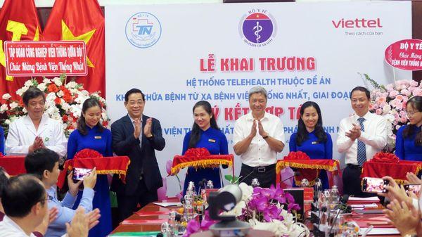 Bệnh viện Thống Nhất hợp tác cùng Viettel triển khai hệ sinh thái bệnh viện thông minh
