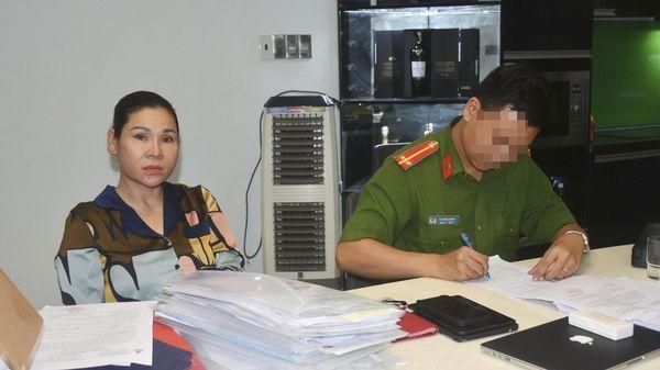 Vợ diễn viên Kinh Quốc bị công an bắt
