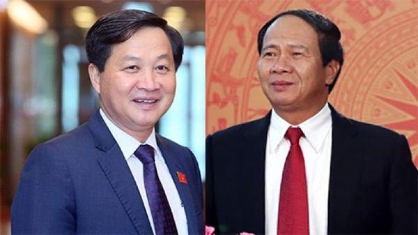 Ông Lê Minh Khái và Lê Văn Thành được bổ nhiệm chức Phó Thủ tướng