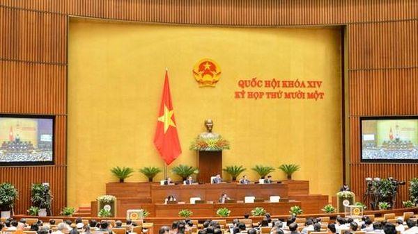 Quốc hội kiện toàn công tác nhân sự trong ngày làm việc cuối kỳ họp thứ 11